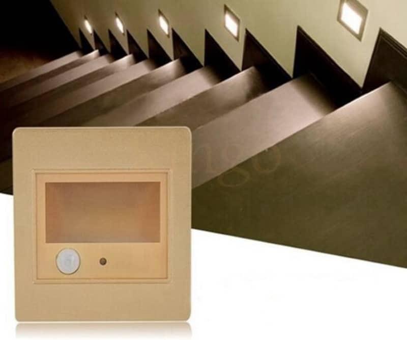 Подсветка лестниц со встроенным ИК-датчиком