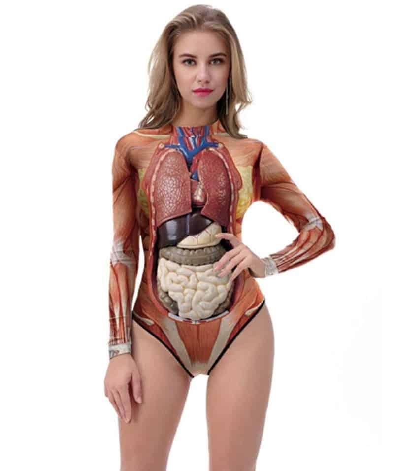 Анатомический купальник