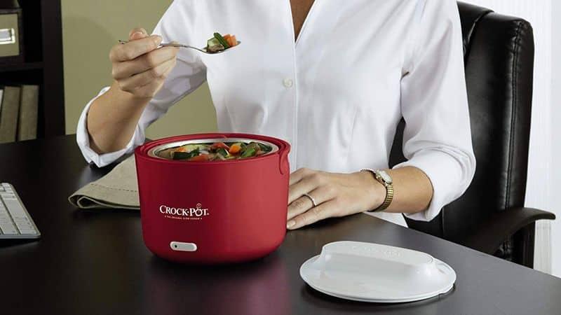 Электрическая кастрюлька для медленного разогрева еды Crock-Pot