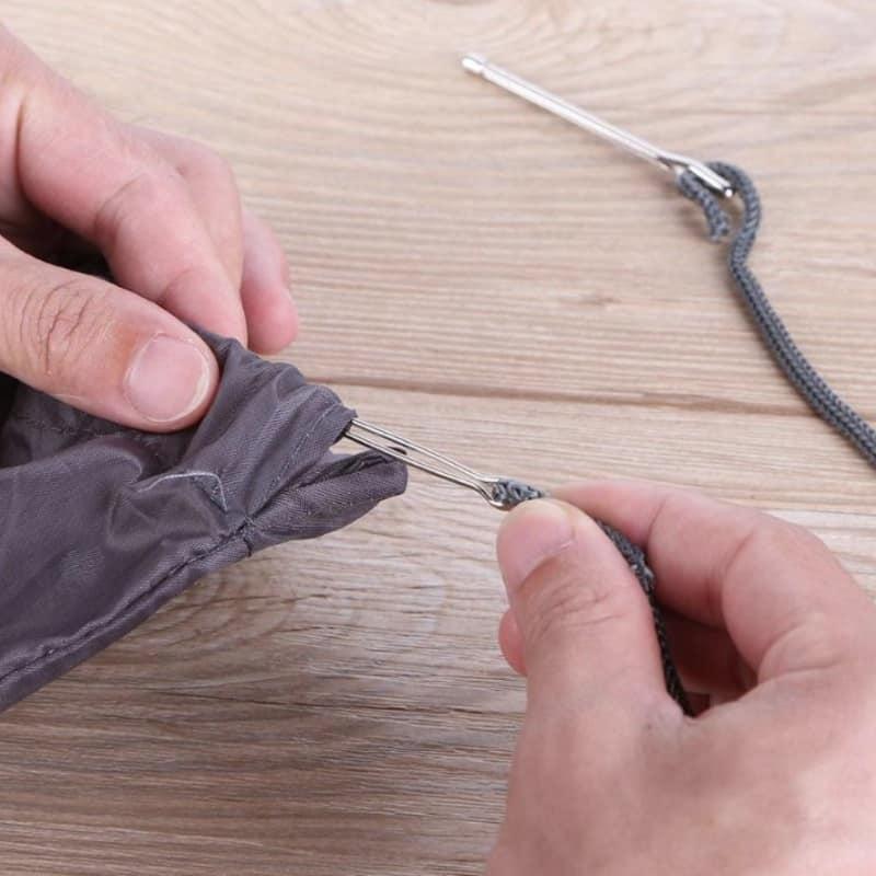 Комплект зажимов для вдевания завязок