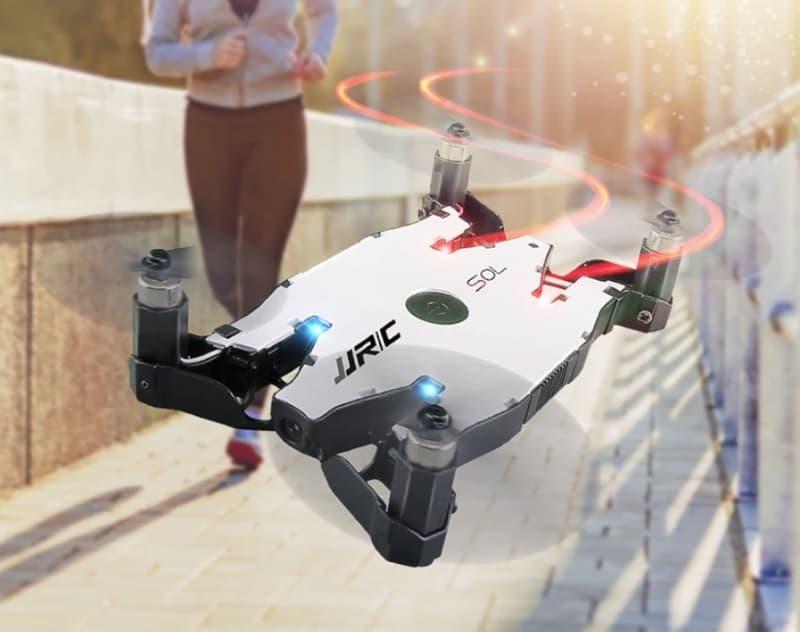 Плоский дрон JJR/C H49
