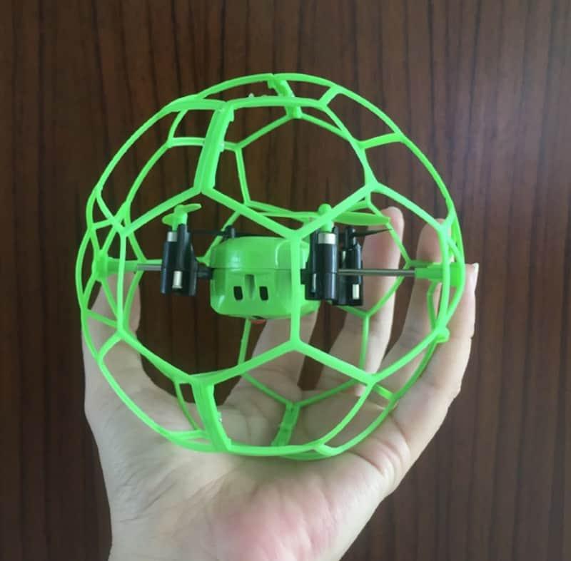 Защищённый мини-дрон