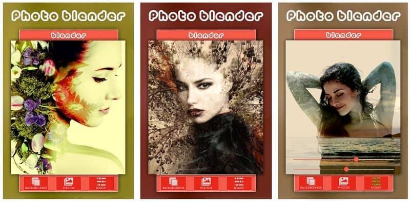Blender - приложение для наложения фотографий