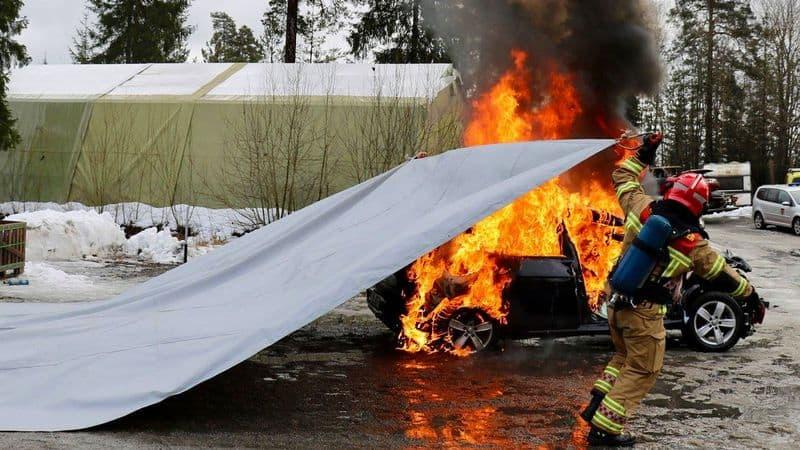 Большое противопожарное одеяло отBridgehill