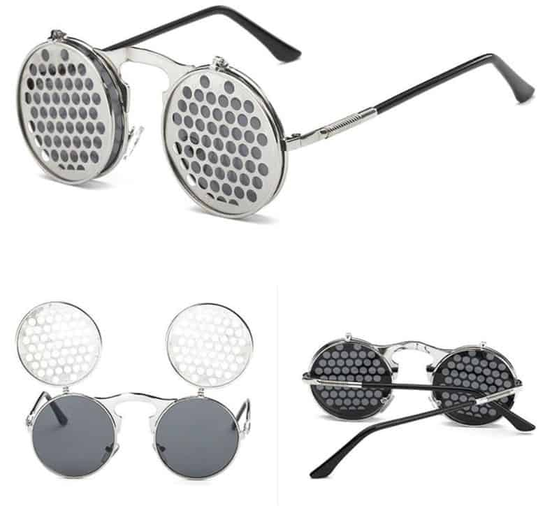 "Солнцезащитные очки в стиле ""стимпанк"" VAZROBE"