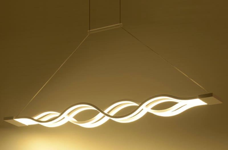 """Большой подвесной LED-светильник """"Волна"""""""