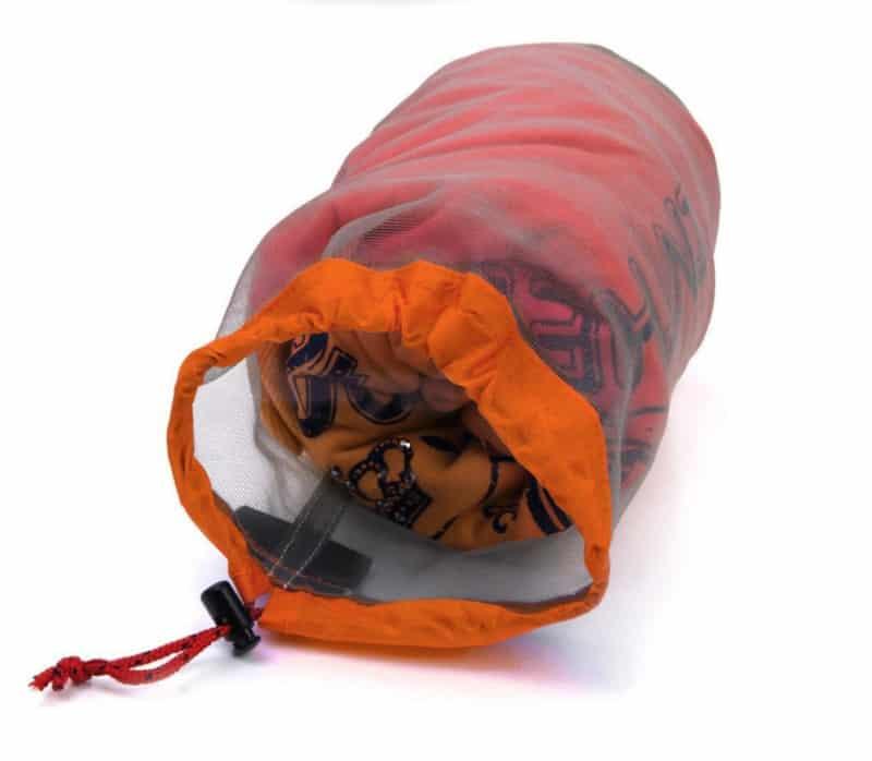 Компрессионный мешок из нейлоновой сетки
