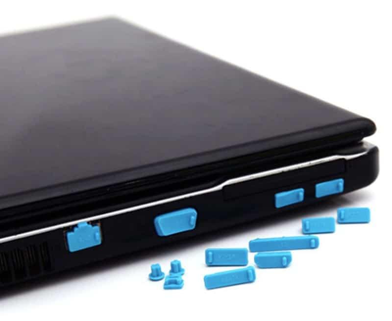 Силиконовые заглушки для ноутбучных разъёмов