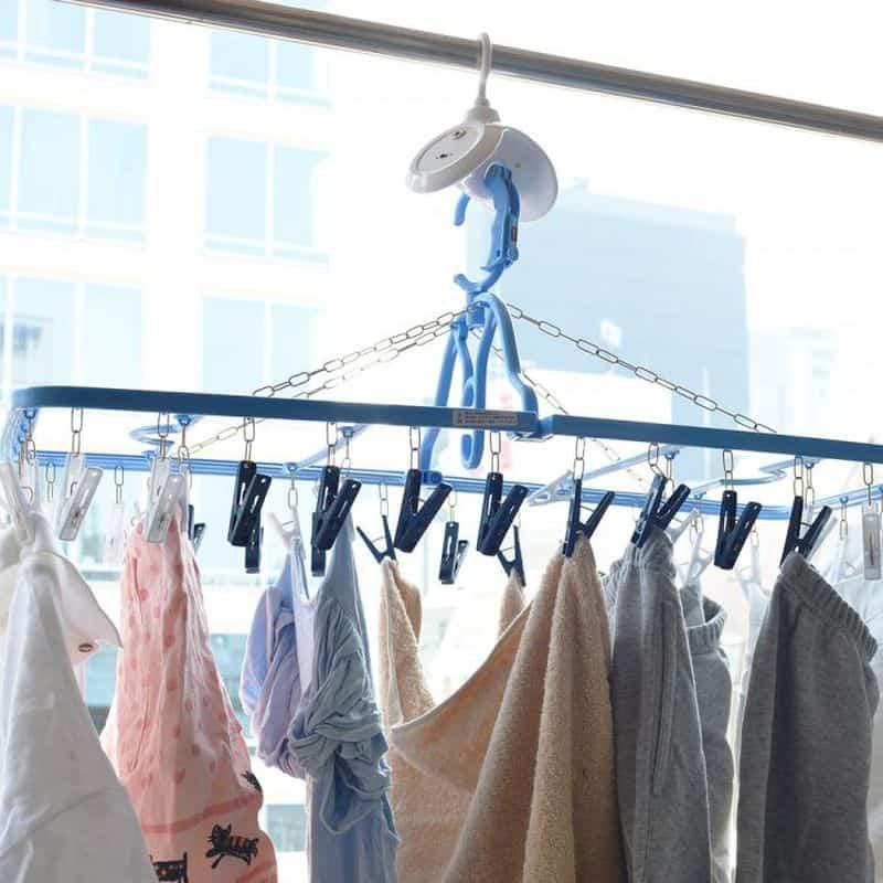 Вращающаяся сушилка для одежды