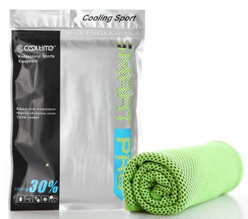 Охлаждающее полотенце для спортсменов