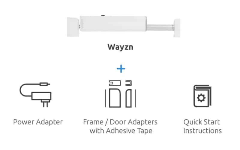 Модуль автоматического открывания раздвижных дверей Wayzn
