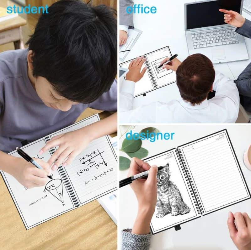 Многоразовый блокнот со стираемыми страницами