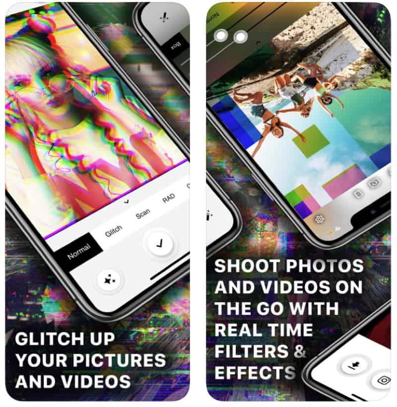 Glitch Video - приложение для художественной деструкции видео и фотографий