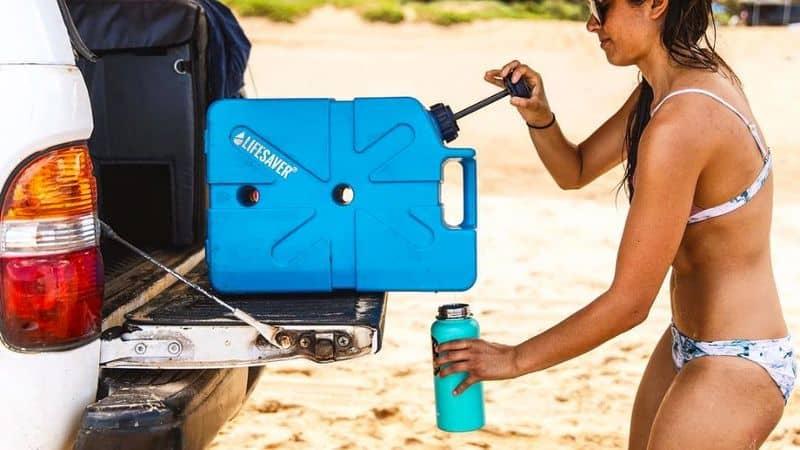 Канистра для воды со встроенным фильтром Lifesaver