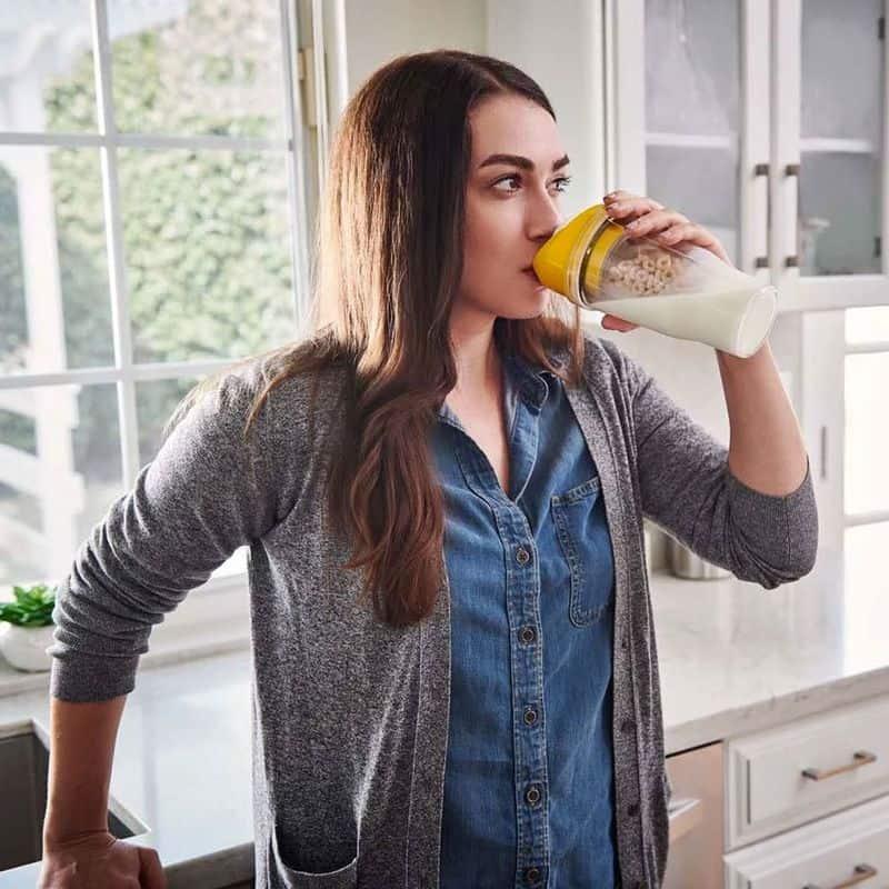 Портативный стакан для приготовления здорового завтрака CrunchCup