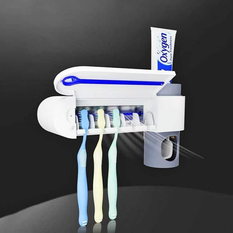 Держатель зубных щёток с УФ-стерилизатором