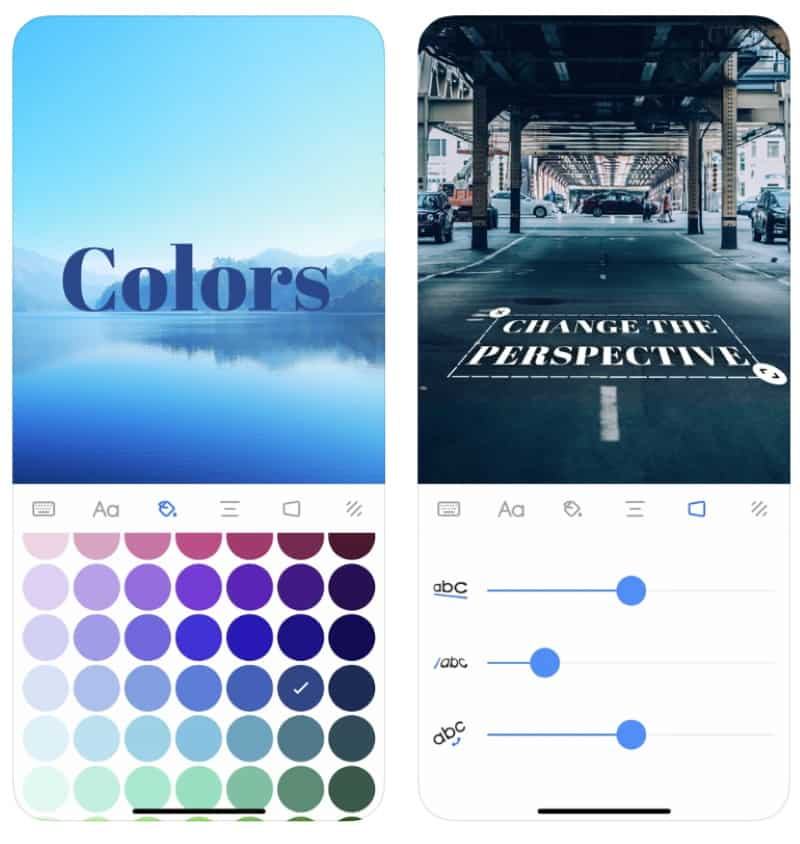 Add Text - приложение для наложения красивого текста на фотографии