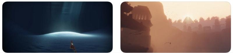 Journey - порт легендарной игры-бродилки для iOS