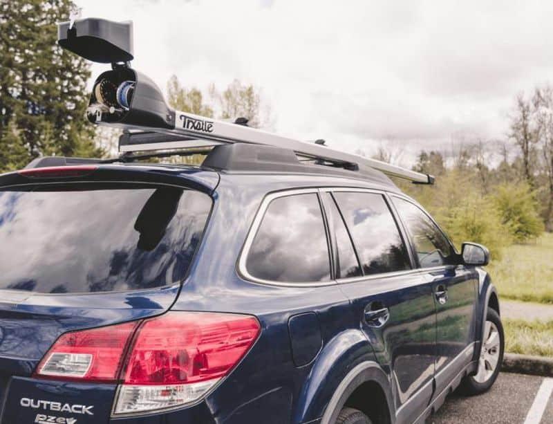 Кейс для перевозки удочек на крыше авто CRC System
