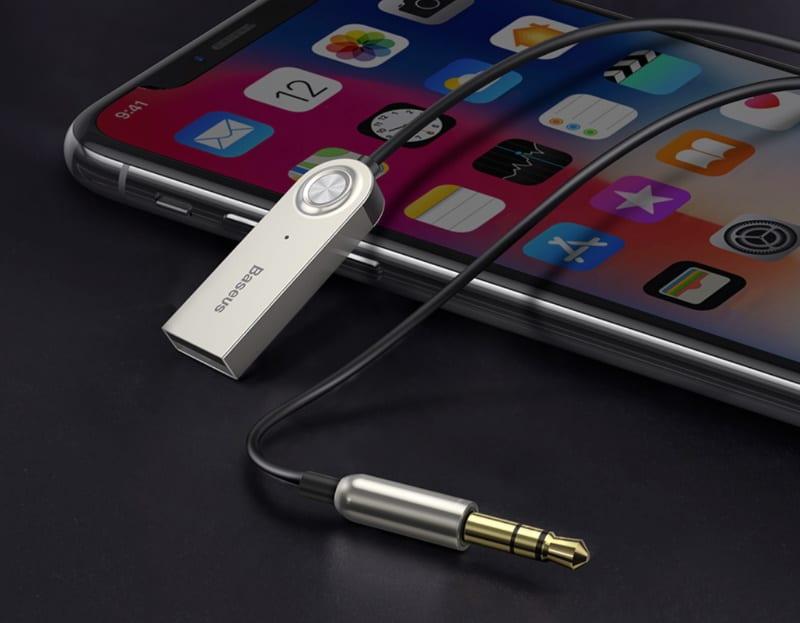 Комбинированный Bluetooth-адаптер для автомагнитолы от Baseus