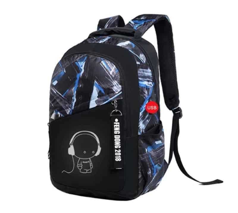 Школьный рюкзак с USB-выходом