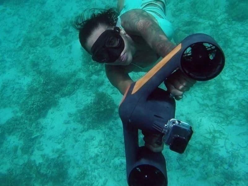Подводный скутер Tridient