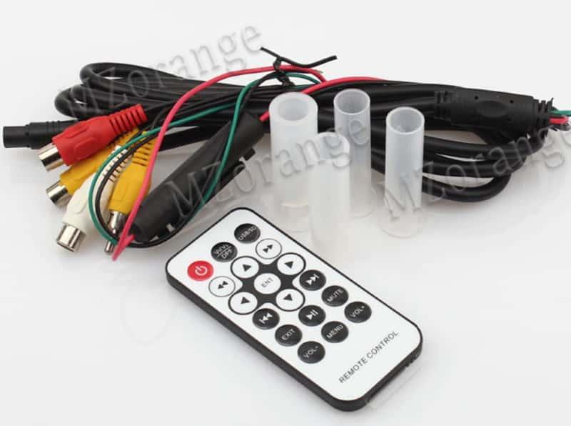 Автомобильный подголовник с интегрированной системой развлечений