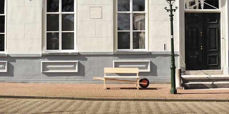 Передвижная скамейка Wheelbench