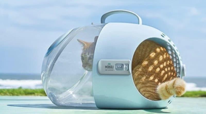 Капсула для бережной перевозки кошек Moboli