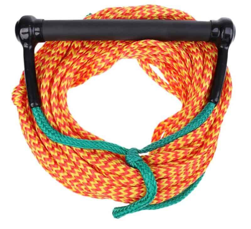 Верёвка для водных лыж с удобной ручкой