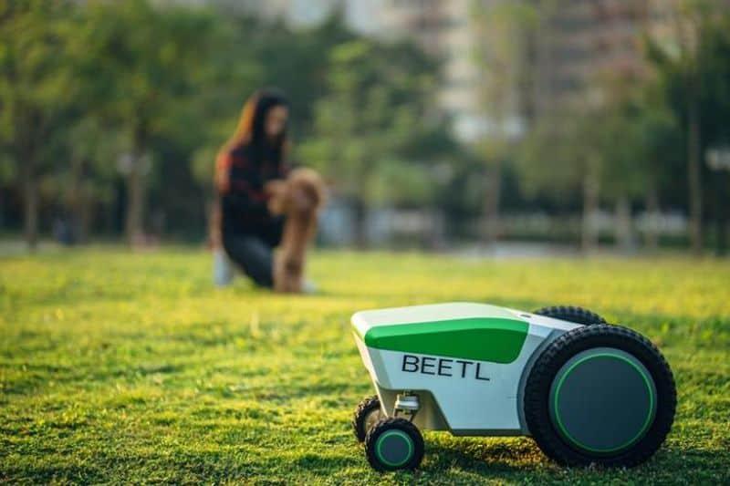 Робот для уборки собачьих экскрементов Beetl