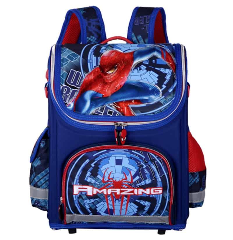 Школьный ранец со Спайдерменом