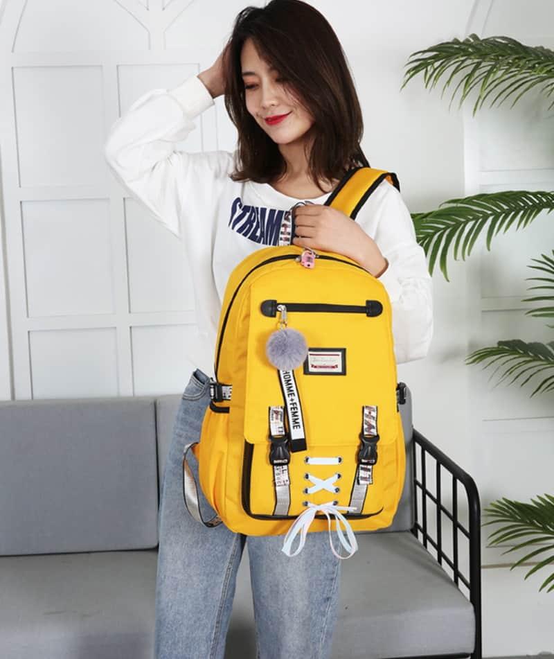Большой рюкзак для девочек