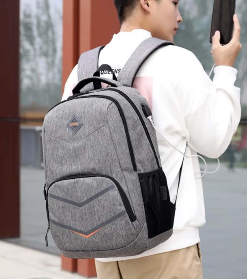 Стильный рюкзакFengDong для старшеклассника