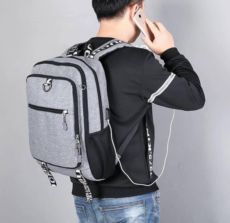 Рюкзак с откидным органайзером