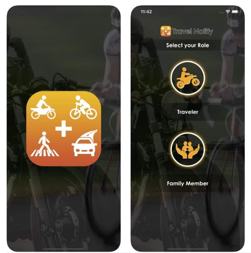 Travel Notify - приложение для уведомления о последнем местоположении