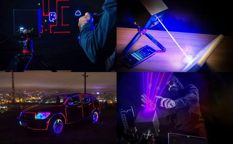 Портативный лазерный проектор LaserCube