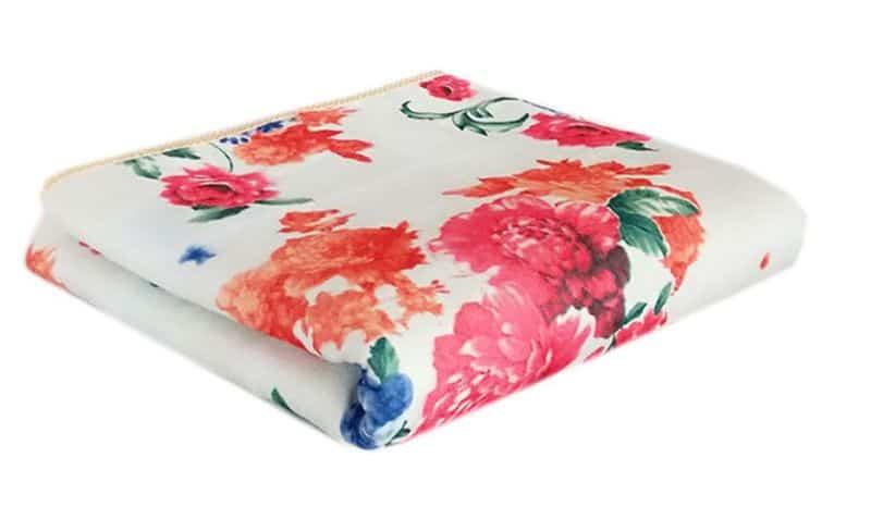 Плюшевое одеяло с электроподогревом