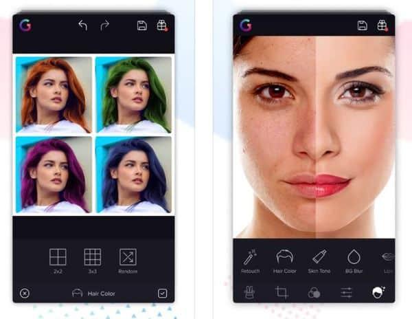 Gradient Photo Editor - приложение для определения сходства со знаменитостями