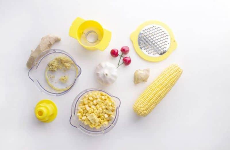 Приспособление для чистки кукурузы