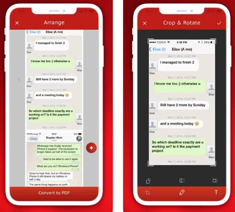 SMS Export - приложение для сохранения переписки в pdf-формате