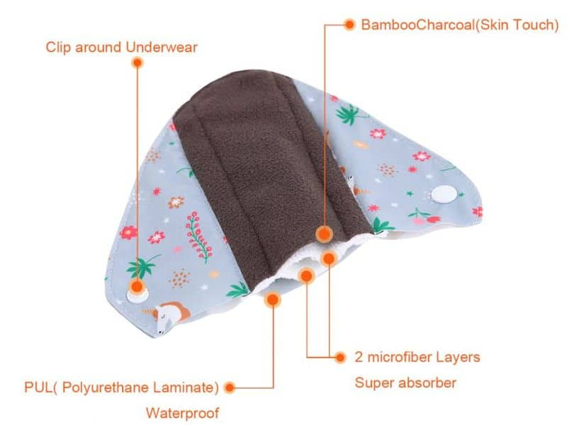 Многоразовые прокладки для женщин