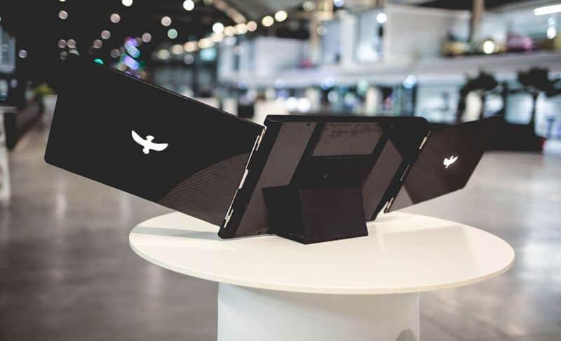 Дополнительные экраны для ноутбука Le Slide