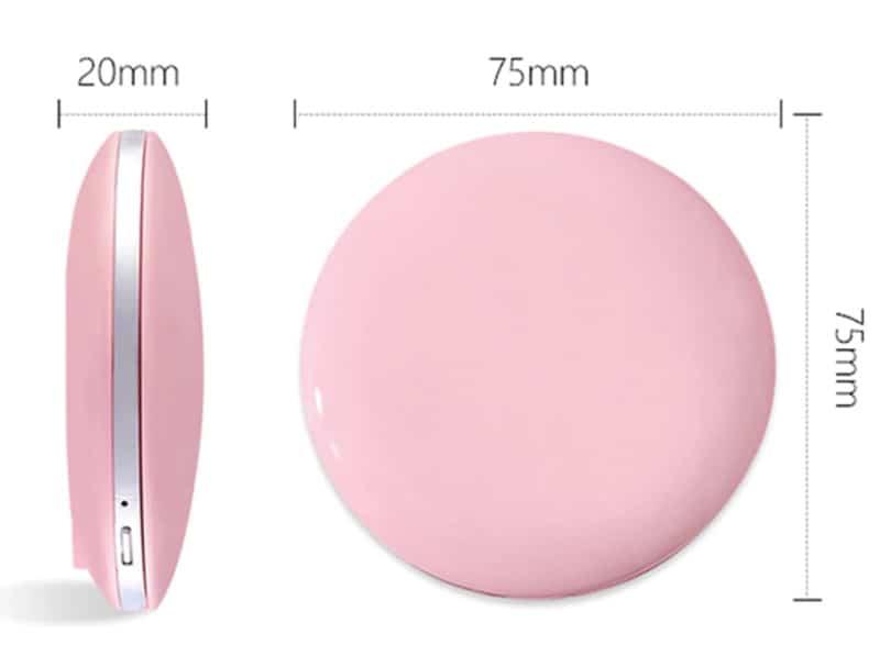 Зеркальце для макияжа со встроенной подсветкой