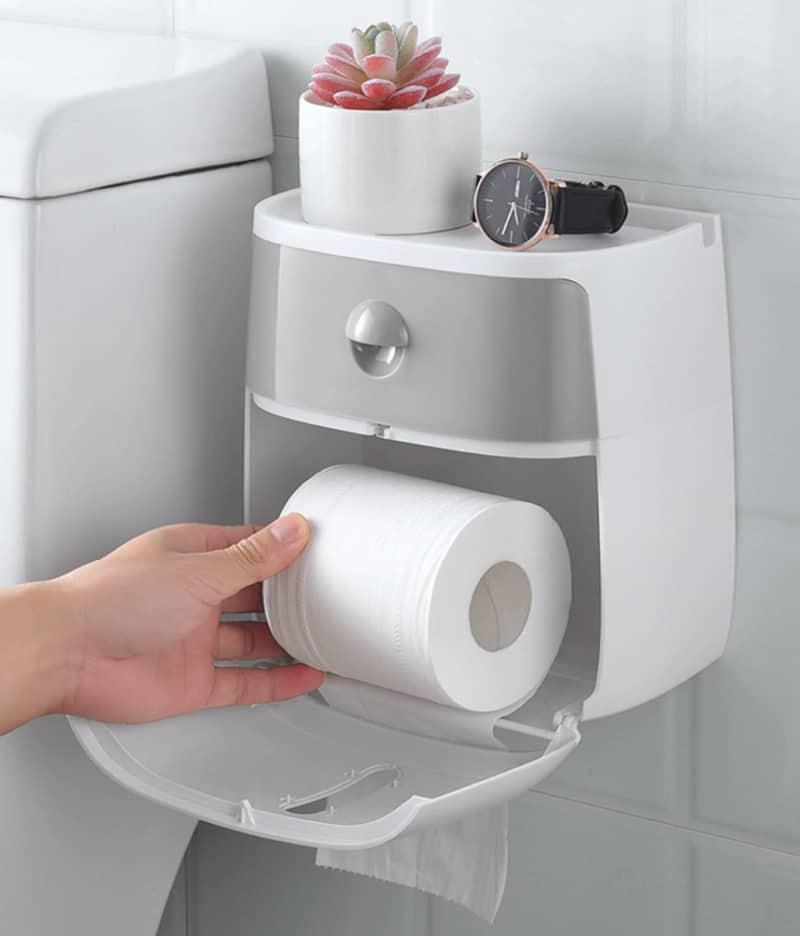 Удобный держатель для туалетной бумаги Ecoco