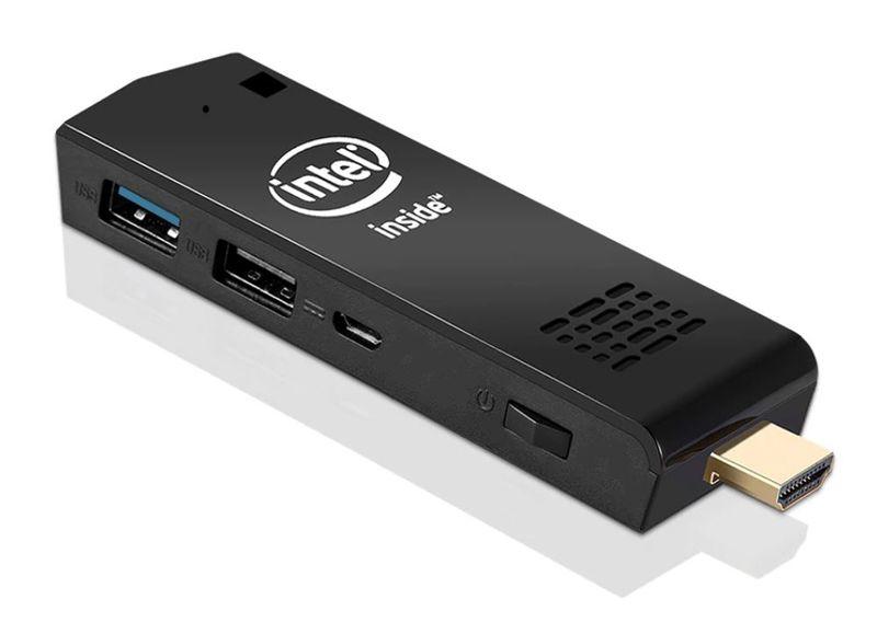 Миниатюрный ПК на Intel Atom Z8350