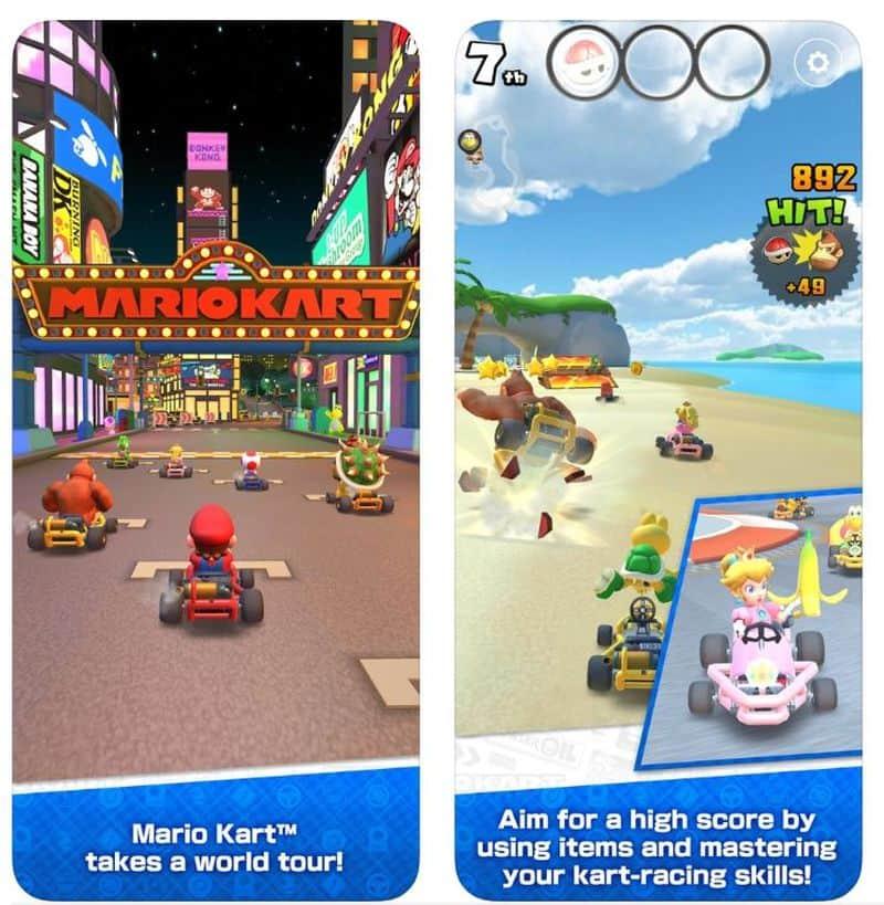 Mario Kart Tour - новая мобильная игра от Nintendo