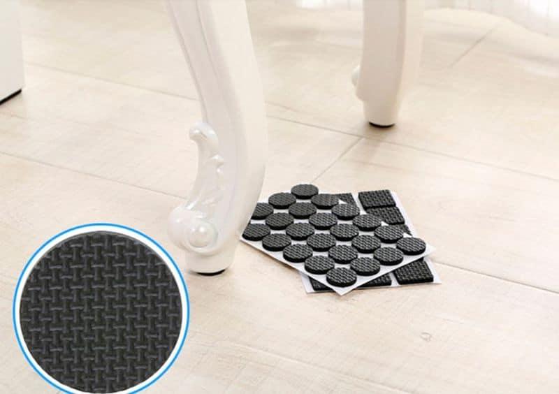 Резиновые накладки на мебель для защиты от скольжения