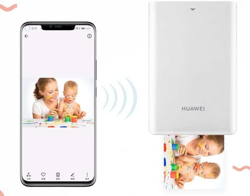 Мини-принтер для печати фотографий от Huawei
