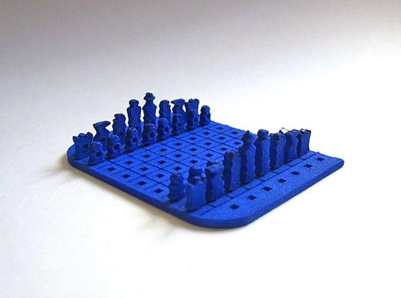 Дорожный набор шахмат в формате кредитки